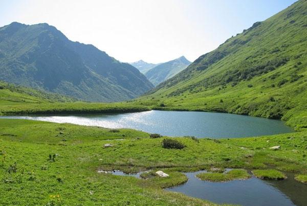 Семиозерье, Озерная Долина в Красной Поляне