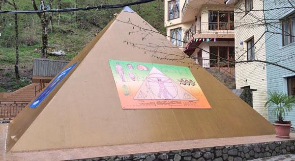 Сооружение и гостиница Пирамида, Эсто-Садок, Красная Поляна