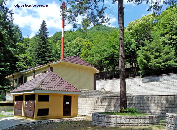 Здания санатория Красная Поляна