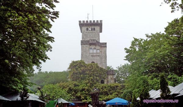 Башня на горе Ахун, Сочи