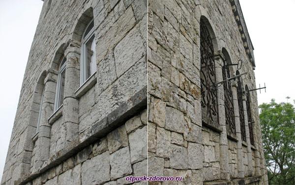 Каменные стены башни, Гора Ахун, Сочи