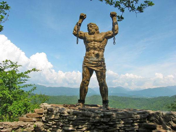Памятник-скульптура Прометея, Сочи