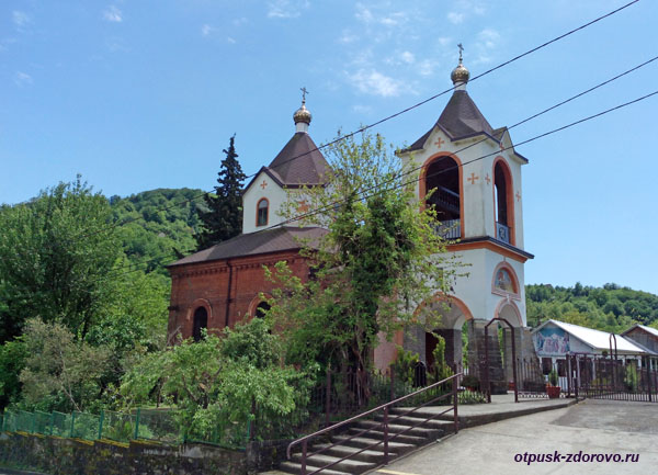 Храм Георгия Победоносца, Сочи