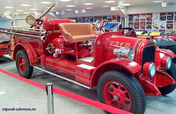 Пожарная машина American LaFrance Brockway Torpedo, год выпуска 1928