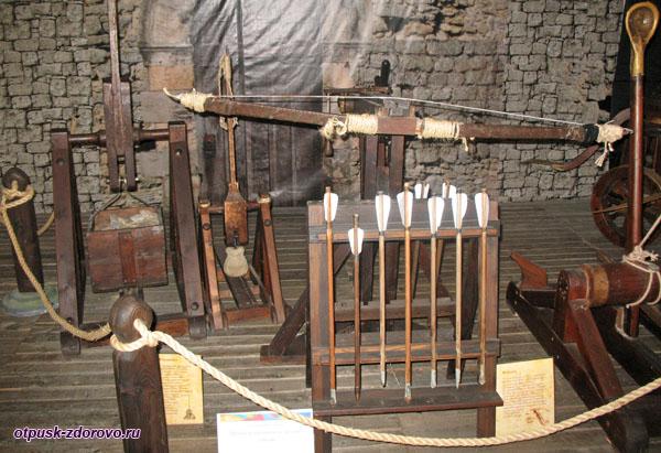 Арбалет, изобретение Леонардо да Винчи