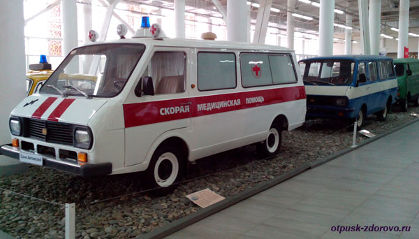 Советские машины Скорой помощи