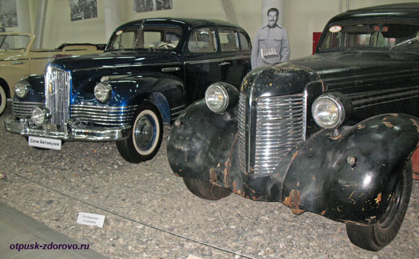 Модели авто ЗИС 101 и 110