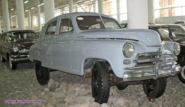 Советский внедорожник ГАЗ-М72