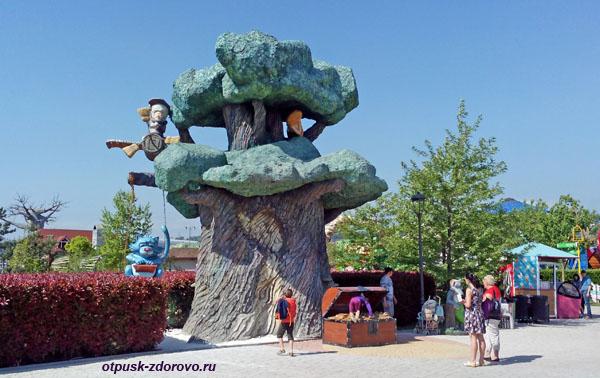 Сказочный дуб, Сочи Парк