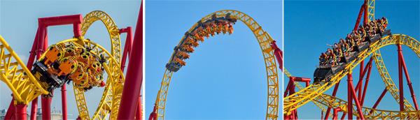 Желтая горка Змей Горыныч, Сочи Парк