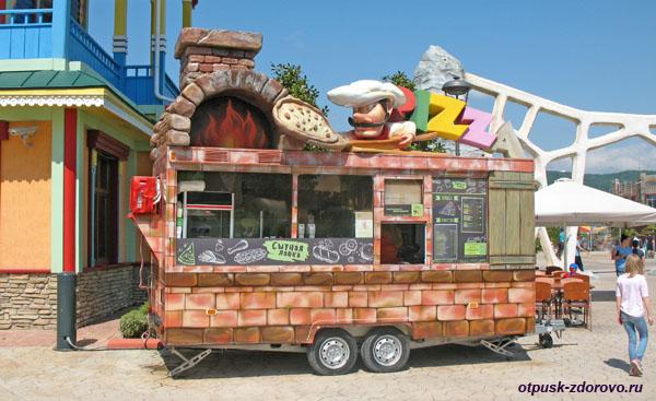 Где поесть в Сочи-Парке
