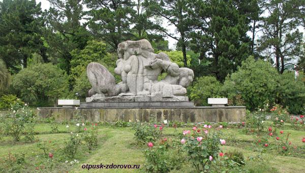 Скульптура в Нижнем парке дендрария, Сочи