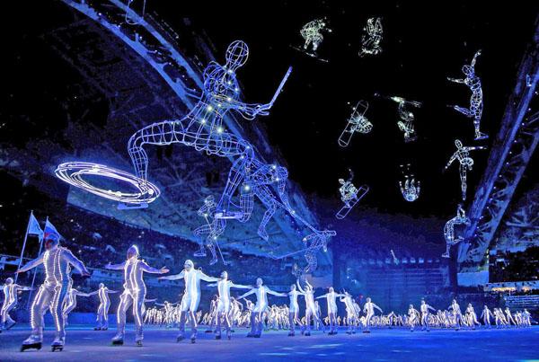 Церемония открытия Олимпиады в Сочи-2014