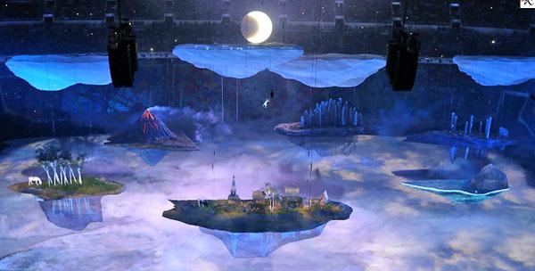 Острова, Церемония открытия Олимпиады в Сочи-2014