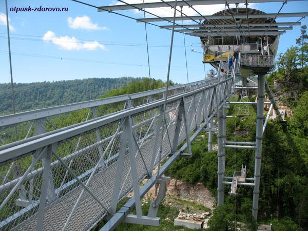 Мост Скай Бридж, Сочи