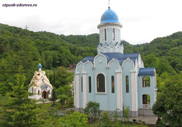 Храмы Троице-Георгиевского женского монастыря, Сочи