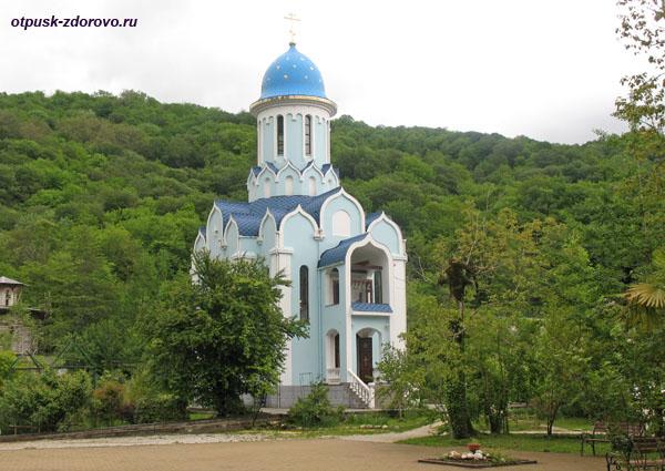 Храм святого Великомученика Уара, Свято-Георгиевский монастырь, Сочи