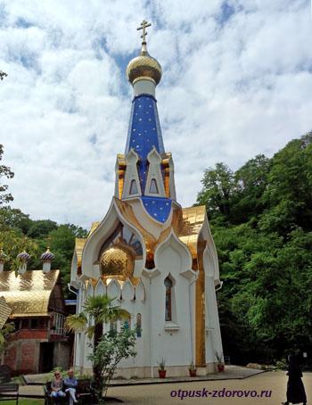 Церковь Семистрельная, Троице-Георгиевский монастырь, Сочи