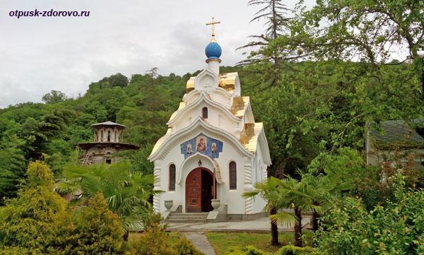 Храм-часовня Утоли моя печали, Троице-Георгиевский женский монастырь, Сочи