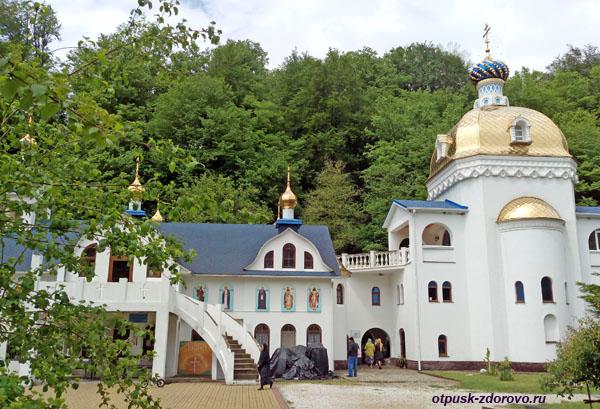 Владимирский и Песчанский храмы, Свято-Георгиевский монастырь, Сочи