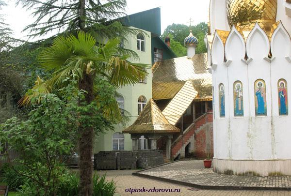 Жилые корпуса, Троице-Георгиевский женский монастырь, Сочи