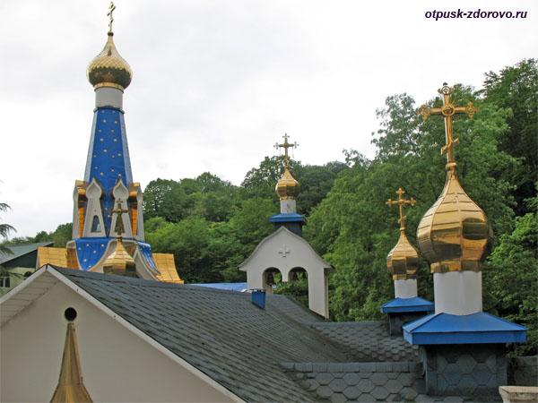 Купола, Троице-Георгиевский женский монастырь, Сочи
