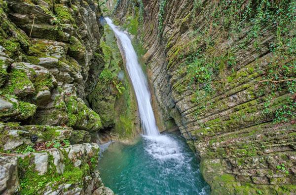 Водопад Чудо-Красотка, Сочи