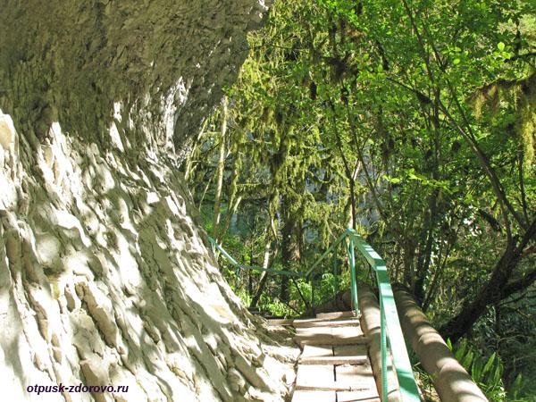 Как добраться пешком на Водопад Пасть Дракона (Глубокий Яр)