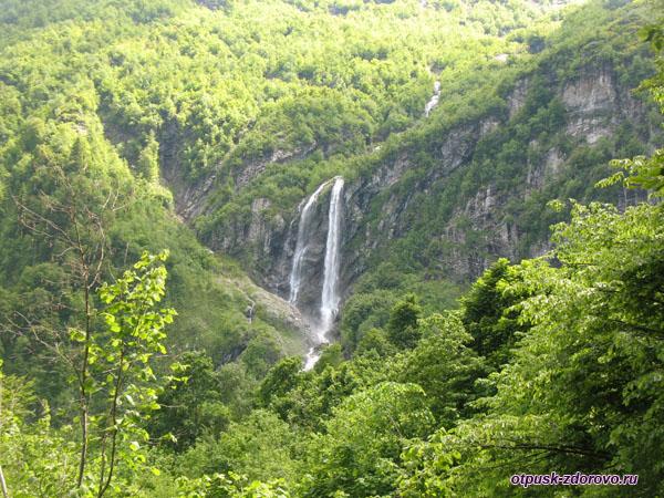 Водопады сочи как добраться самостоятельно