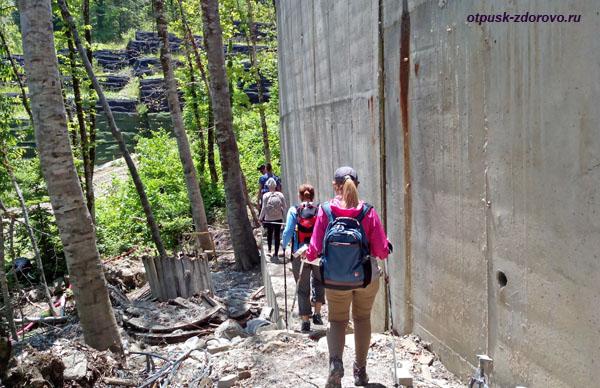 Пешком на водопад Поликаря