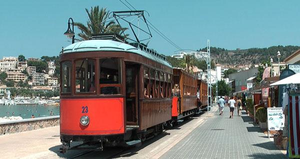 Поезд в Порт-де-Сольер, Майорка