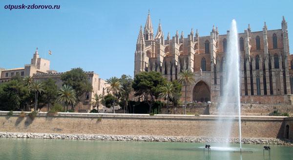 Королевский дворец Альмудайна и Кафедральный собор, Пальма-де-Майорка, достопримечательности