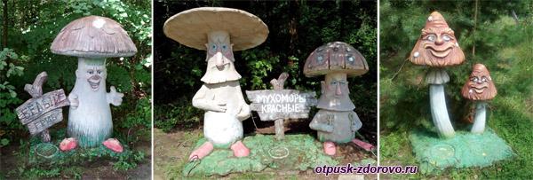 Грибы, Парк-заповедник сказок Берендеево Царство, Серпуховский район