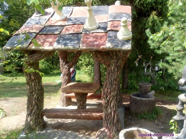 Шахматная беседка, Парк-заповедник сказок Берендеево Царство, Серпуховский район