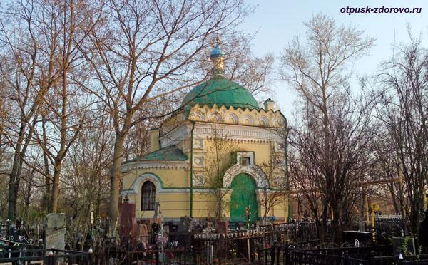 Даниловское кладбище, часовня в честь святителя Николая