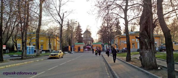 Даниловское кладбище, где похоронена Матрона Московская