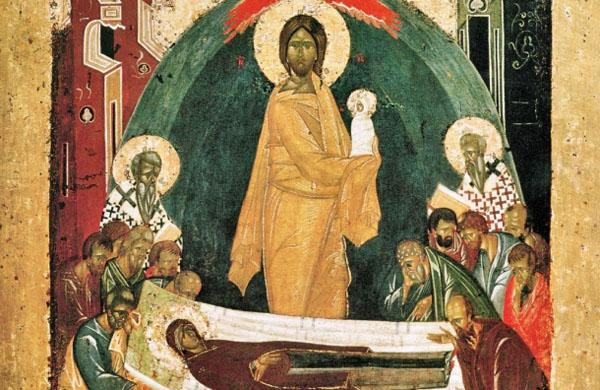 Успение Богородицы, икона Феофана Грека