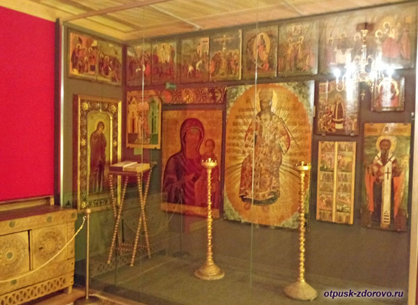 Моленная палата во Дворце Алексея Михайловича в Коломенском