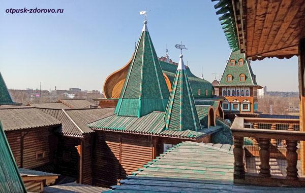 Башни царского терема в Коломенском, Москва