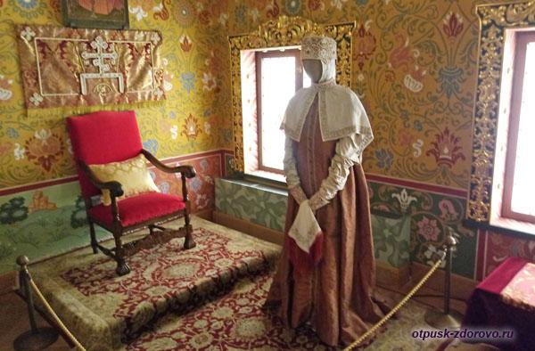 Хоромы царицы во дворце Алексея Михайловича в Коломенском