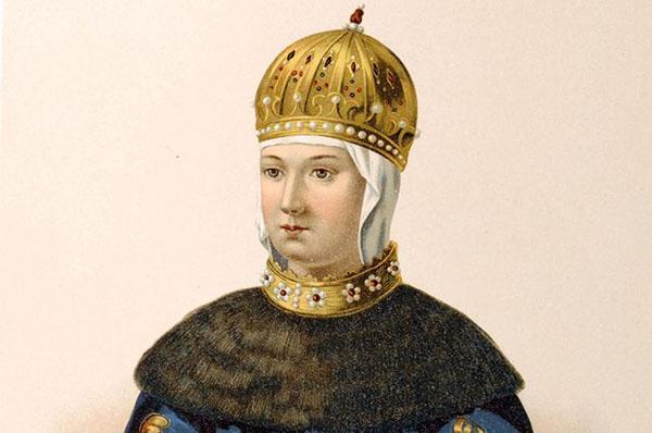 Портрет Марии Ильиничны Милославской, первой жены царя Алексея Михайловича