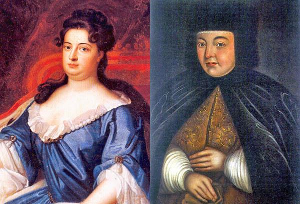 Портреты Натальи Кирилловны Нарышкиной, второй жены царя Алексея Михайловича