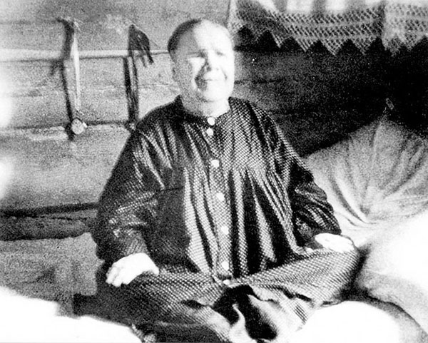 Святая старица Матрона Московская, фото при жизни