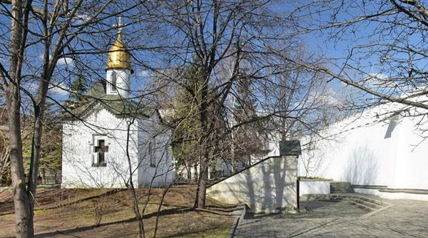 Поминальная часовня, Свято-Даниловский монастырь в Москве