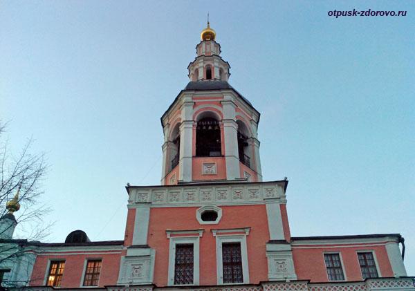 Колокольня, Свято-Даниловский монастырь в Москве