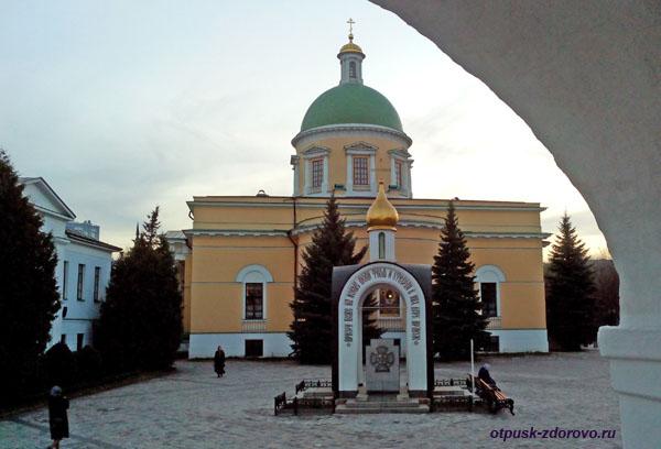 Часовня в честь 1000 летию Крещения Руси, Свято-Данилов монастырь, Москва