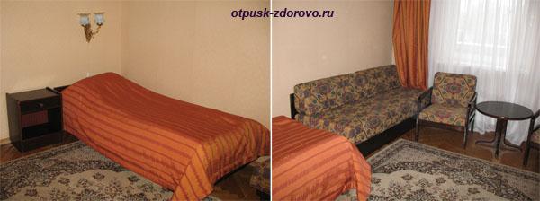 Комната в гостинице Даниловская в Москве