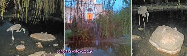 В парке возле гостиницы Даниловская, Москва