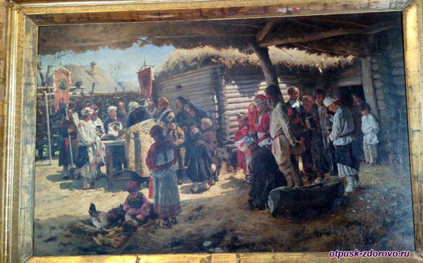 Маковский Молебен на Пасху, Историко-художественный музей, Серпухов