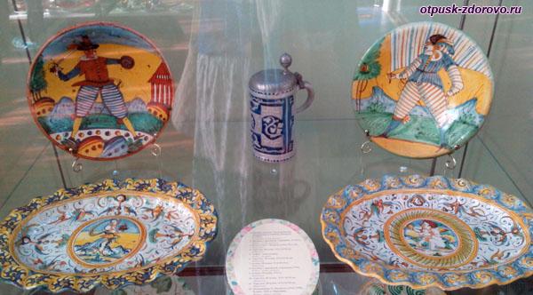 Выставка Магия фарфора, Историко-художественный музей, Серпухов